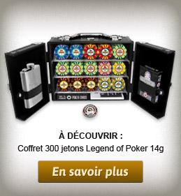 Coffret Poker Studson 300 jetons